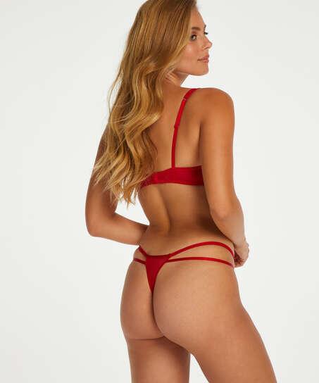 Leyla tanga thong, Red