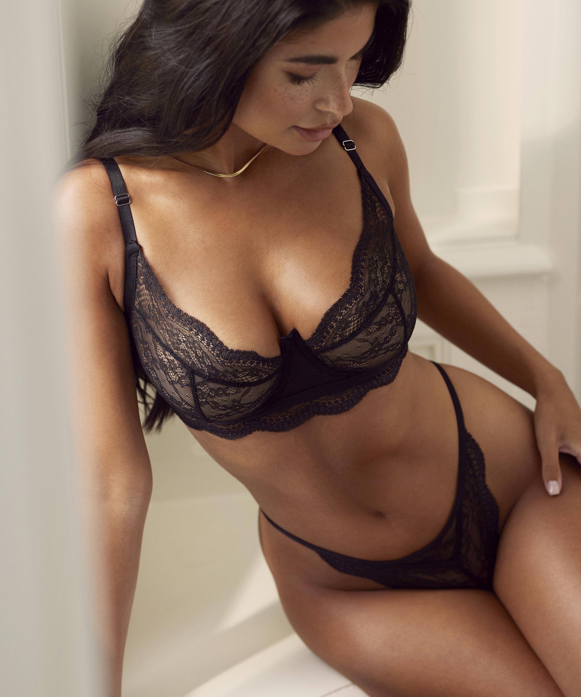 Thong Isabelle, Black, main