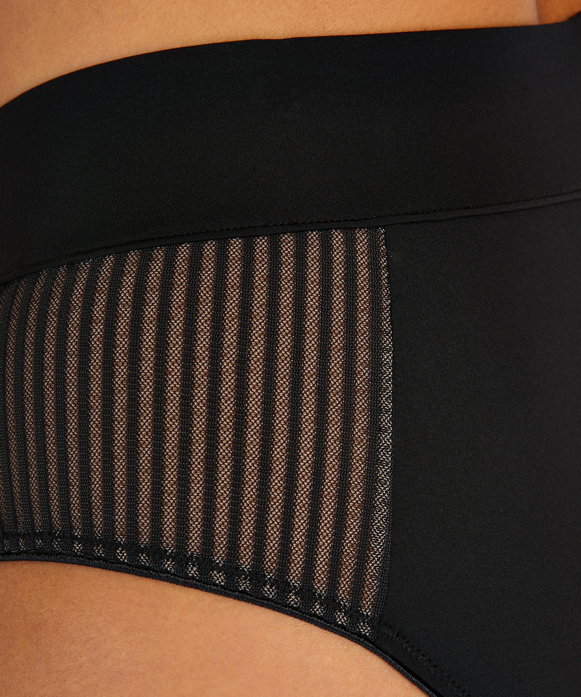 Meryem High Leg Brazilian I AM Danielle, Black, main