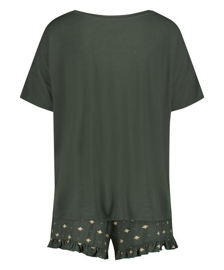 Short Pyjama Set, Green