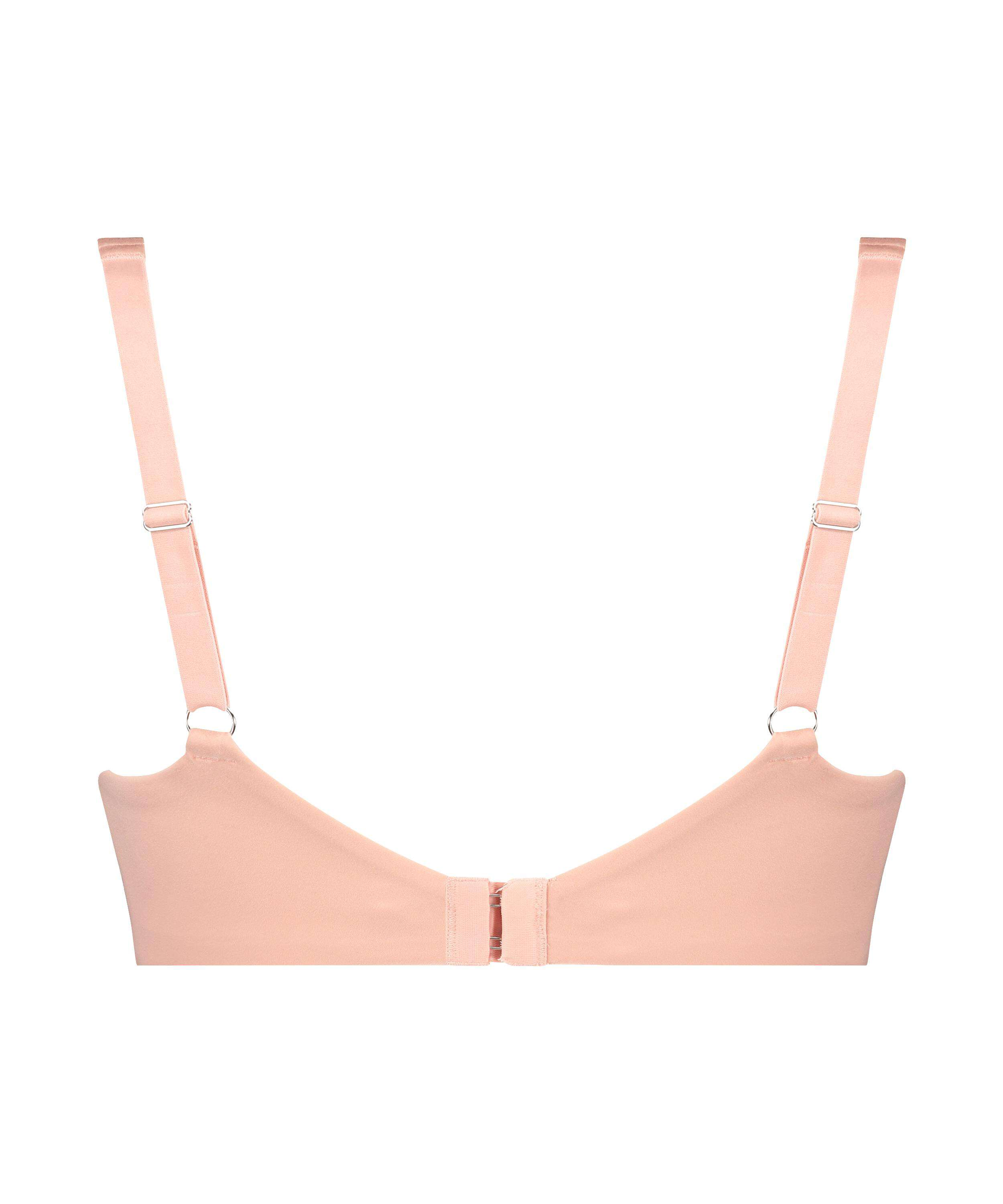Soft non-padded underwire bra Cup E +, Pink, main