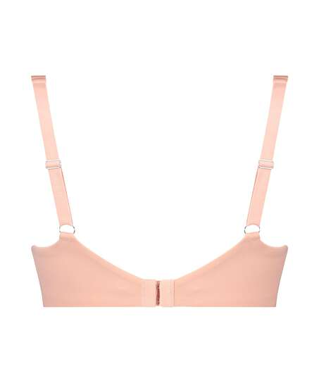 Soft non-padded underwire bra Cup E +, Pink
