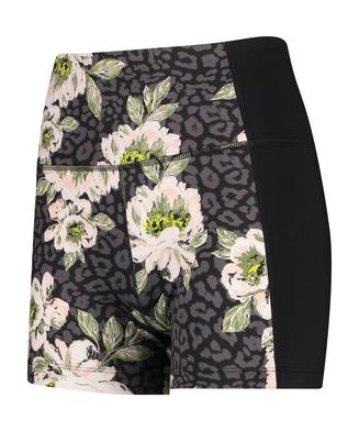 HKMX high waisted shorts, Black