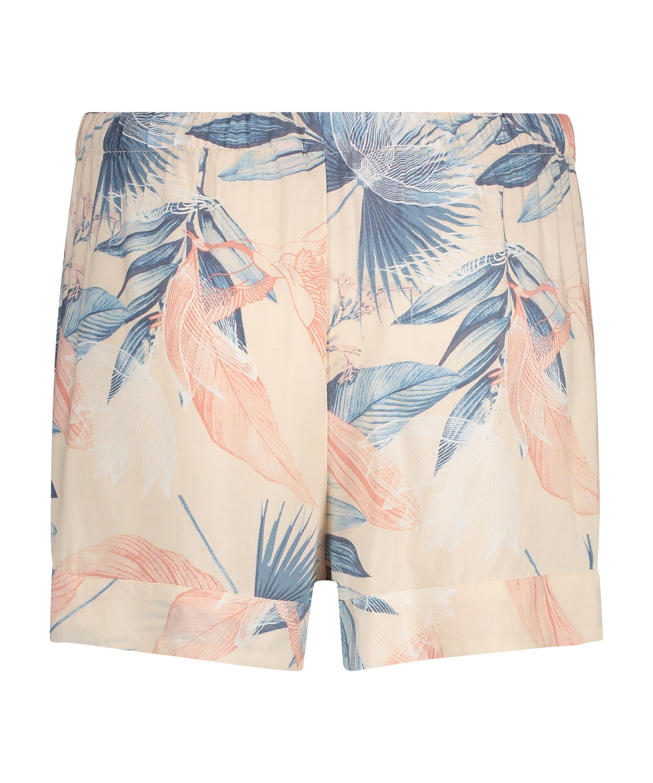 Pyjama shorts, Beige, main