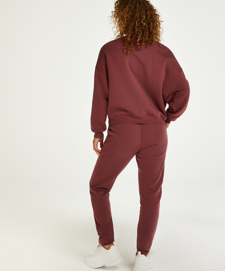Tall Jogger Sweat Brush, Red