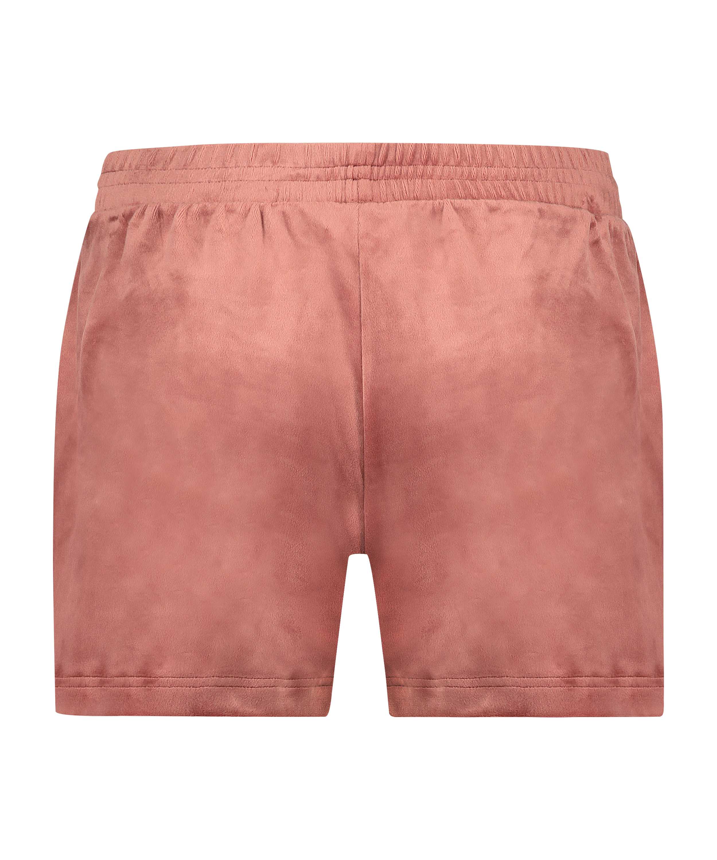 Velvet Pocket shorts, Pink, main
