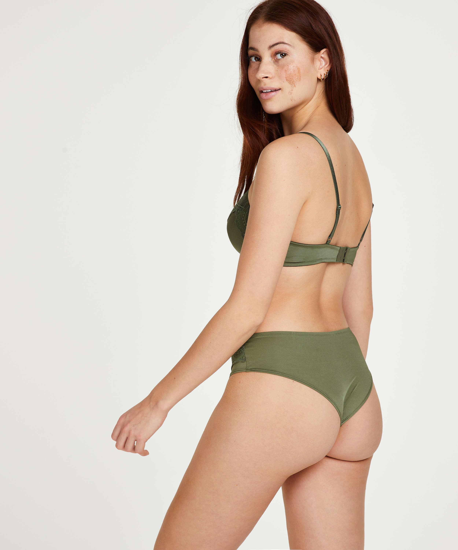 Gina Brazilian Shorts, Green, main