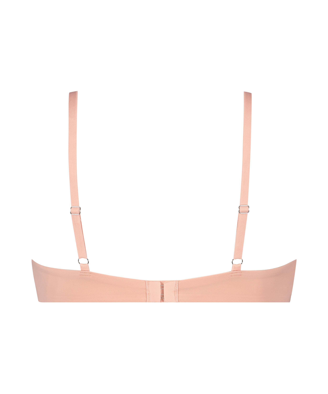 Soft non-padded underwired bra, Pink, main