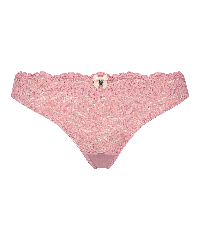 Rose Thong, Pink, main