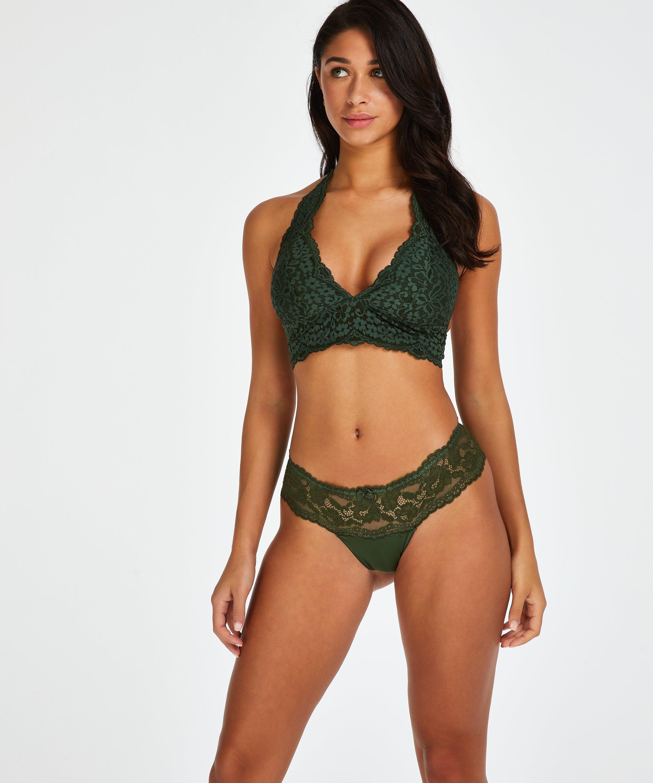 Florence Thong boxers, Green, main