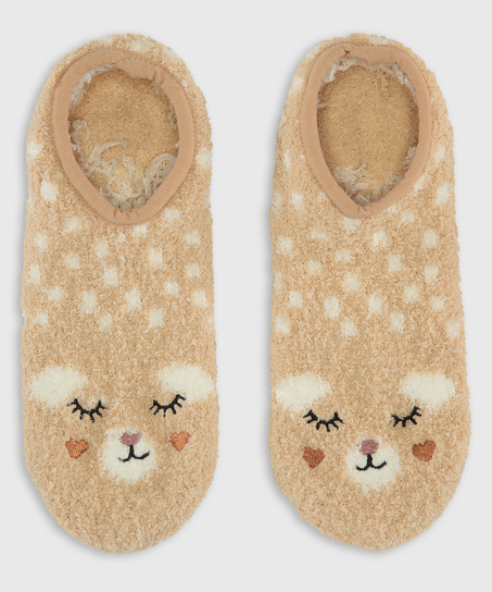 Cosy Footsies, Beige