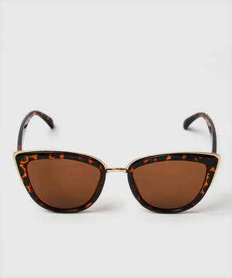 Cat Eye sunglasses, Brown