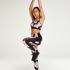 HKMX regular waist sport legging level 2, Black