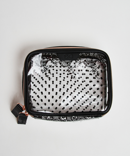 Make-up bag, Black