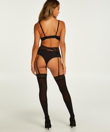 Stockings 50 Denier Lace, Black