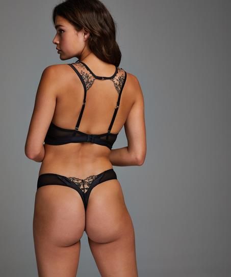 Jade Thong, Black