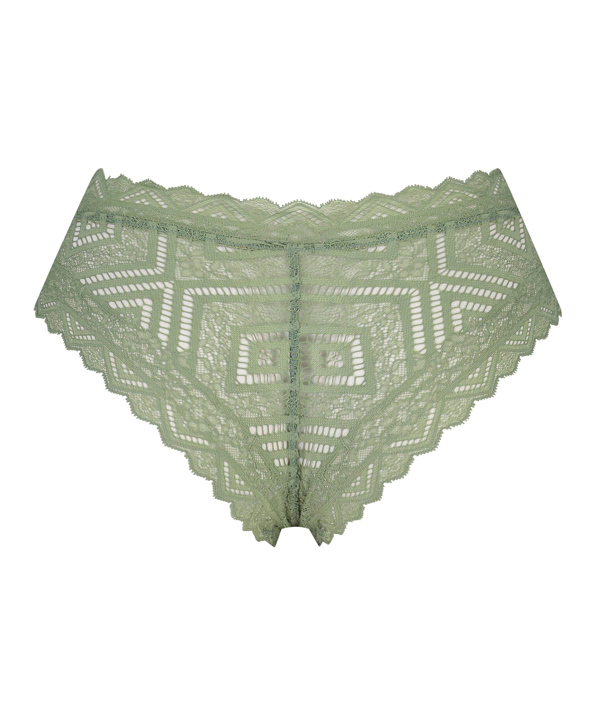 Filomena High Leg Brazilian I AM Danielle, Green, main