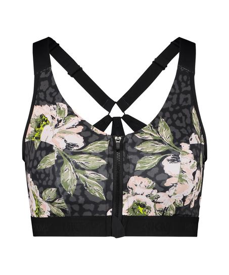 HKMX Sports bra The Pro Level 3, Black