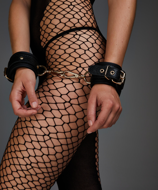Snake handcuffs , Black, main