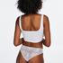 Invisible Lace Back Brazilian, White