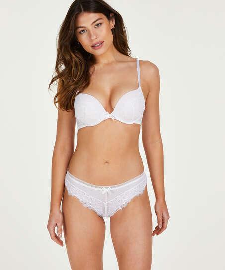 Bessie Brazilian, White