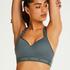 HKMX Sports bra The All Star Level 2, Green