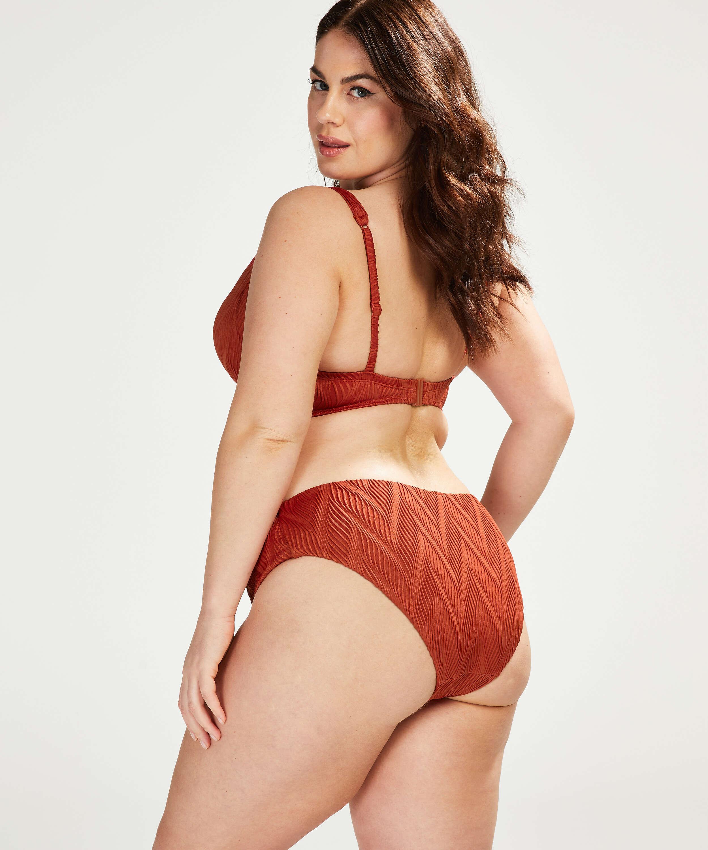 Galibi padded underwired bikini top I AM Danielle Cup E +, Orange, main