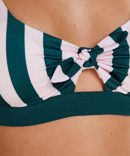 Santa Rosa Bikini Crop Top, Green
