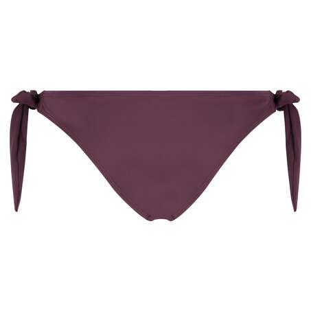 Brazilian low rise Borneo mesh bikini bottoms, Purple