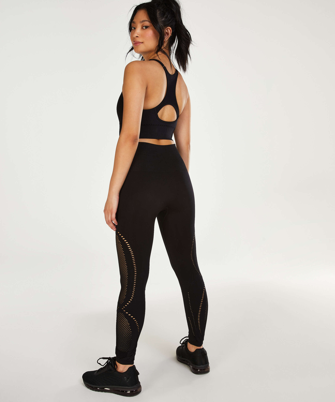 HKMX Sports bra The Comfort Level 1, Black, main