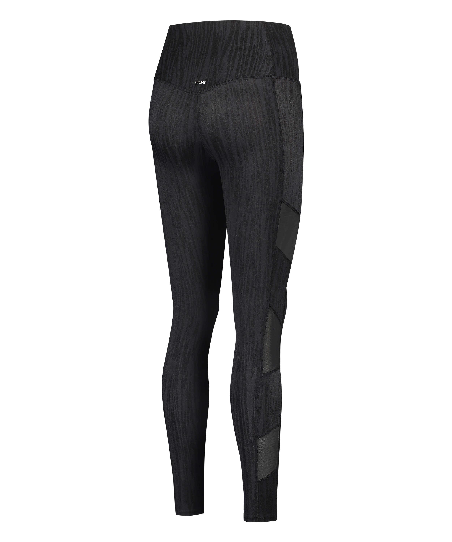 HKMX High waisted sport legging Mojave, Black, main
