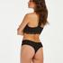 Vixen V-shaped brazilian, Black