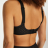 HKMX The Infinity sports bra level 2, Black