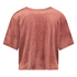Top Velours Pocket, Pink
