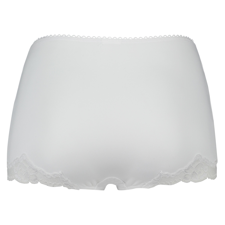 Secret Lace maxi rio briefs, White, main