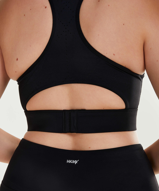 HKMX Sports bra The Spirit Level 2, Black, main