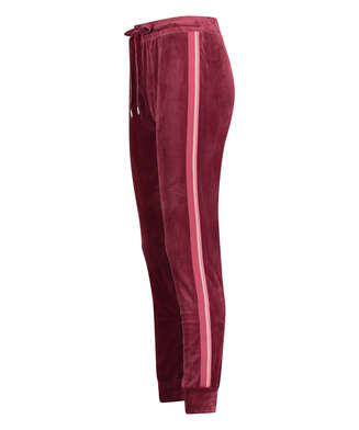 Tall Velours jogging bottoms, Red