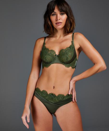 Hannako thong, Green