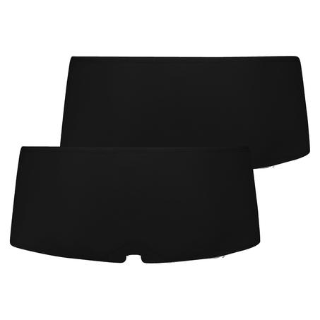 2 Cotton Boxers Kim, Black