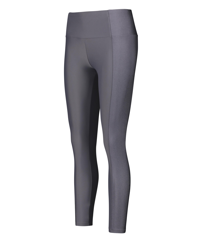 HKMX High waisted sports leggings Shine On, Grey, main