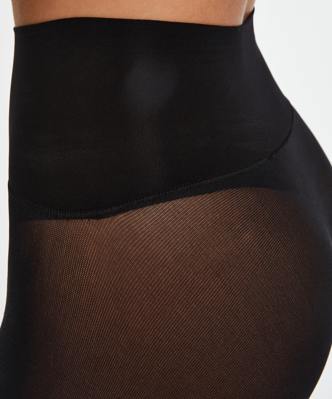 Tights 60 Denier Velvet Touch, Black, main