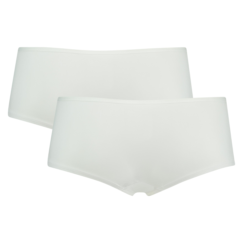 2 Cotton Boxers Kim, White, main