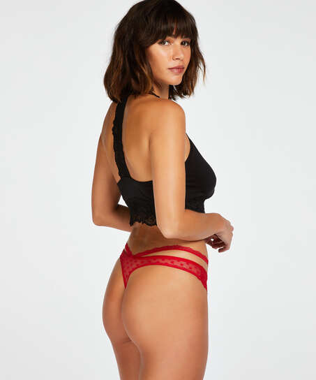 Kelsey thong, Red