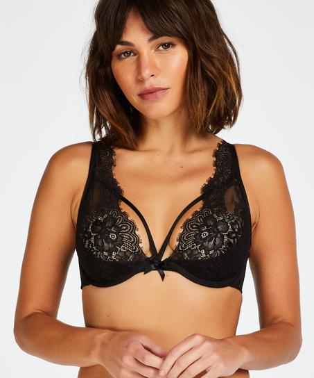 Latisha Non-Padded Underwired Bra, Black