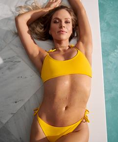 Napa bikini crop top, Yellow