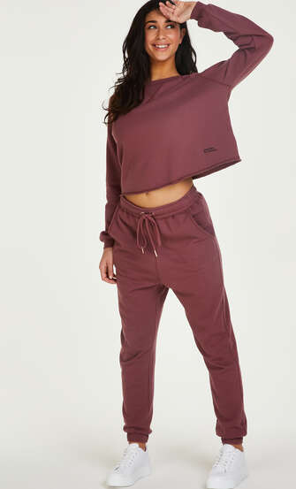 Tall French Jogger Sweat, Pink