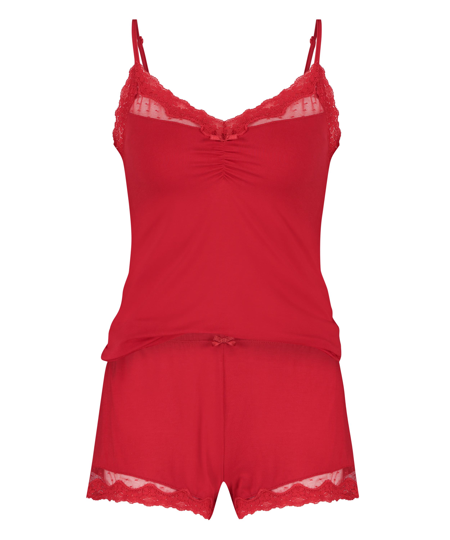 Pajama Set, Red, main