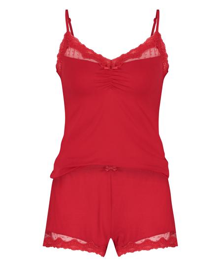 Pajama Set, Red