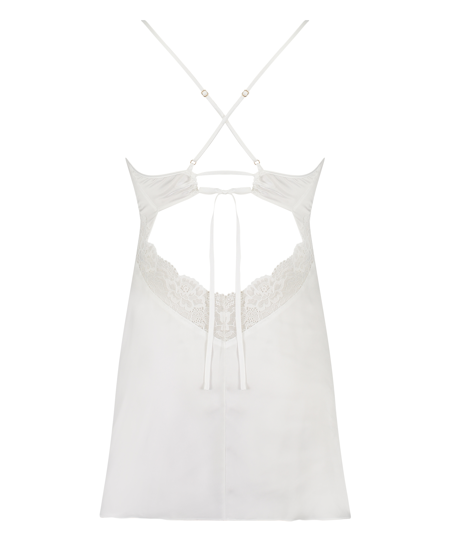 Nina Slip Dress, White, main
