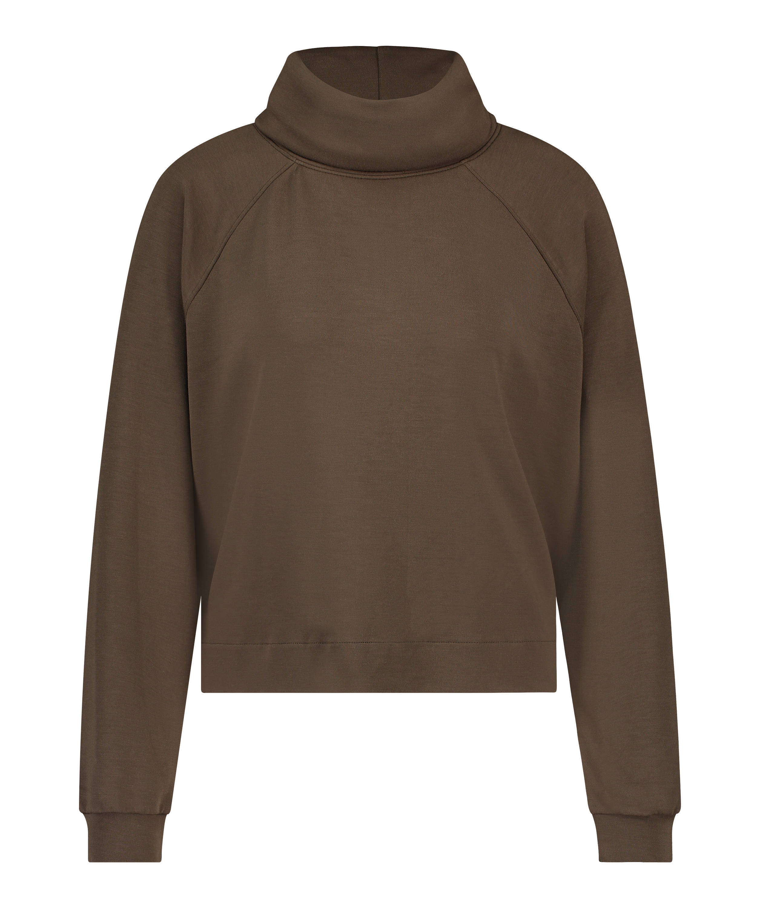 Sweater Funnel Neck, Green, main